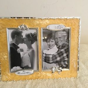 25 Anniversary Picture Frame by Shudehill NWOT